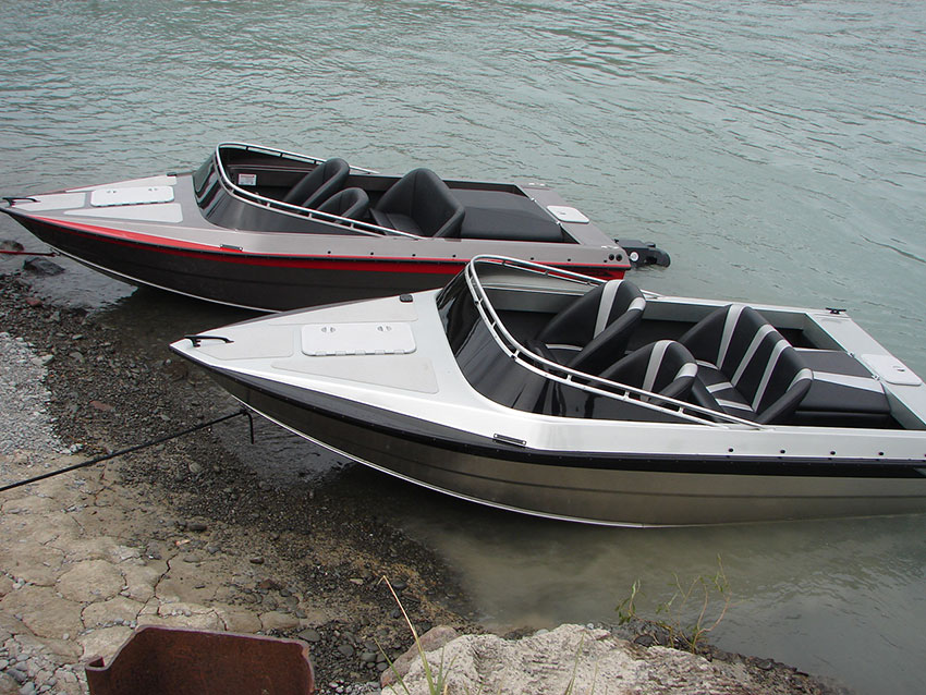 Rapid Runner - Jetboat package options | Jet Boat Base